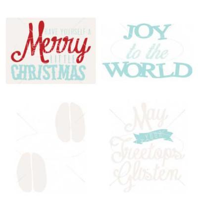 Christmas Card Elements - CS