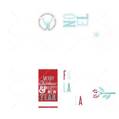 Christmas Card Photocards - GS