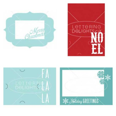 Christmas Card Photocards - CP