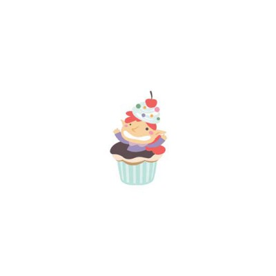 Make Life Sweet-Cupcake Elf - CS