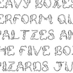 LD Ballet - Font