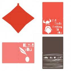 Valentine Schmalentine Cards - CP