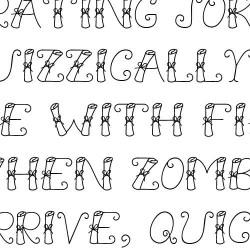 LD Scroll - Font