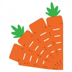Jin's Carrot Cone Box - CP