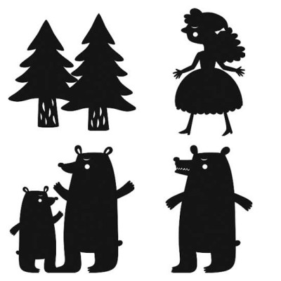Shadow Play - Three Bears - SS