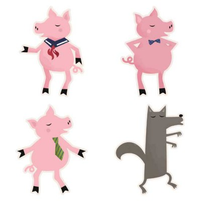 Shadow Play - Three Pigs - GS