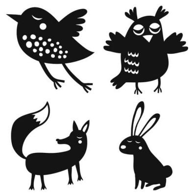 Shadow Play - Forest Animals - PR