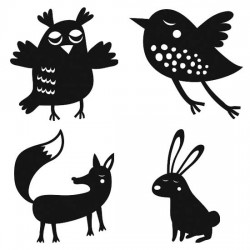 Shadow Play - Forest Animals - SS