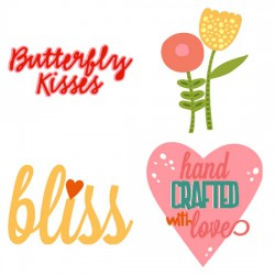 Butterfly Kisses - Elements - CS