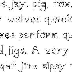 LD Funky - Font