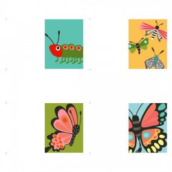 Butterfly Kisses Cards - PR