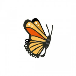 Butterfly Kisses - Monarch - CS