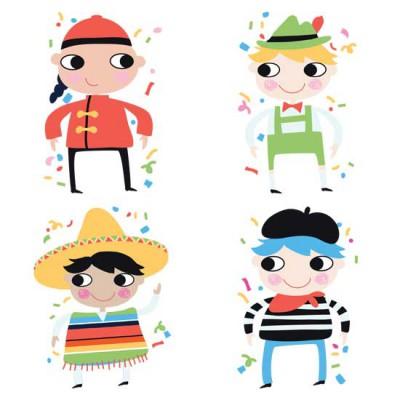Confetti - Multicultural Boys - GS