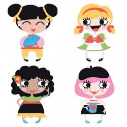 Confetti - Multicultural Girls - CS