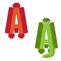 Animal Alphabet A - CP