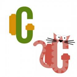 Animal Alphabet C - CP