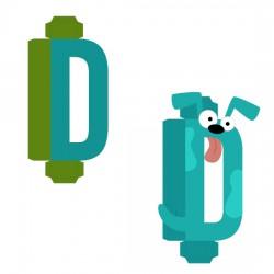 Animal Alphabet D - CP