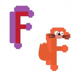 Animal Alphabet F - CP