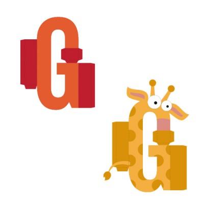 Animal Alphabet G - CP