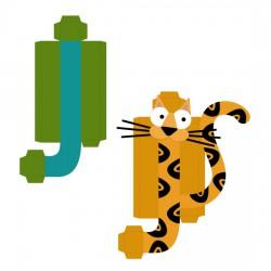 Animal Alphabet J - CP