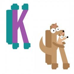 Animal Alphabet K - CP
