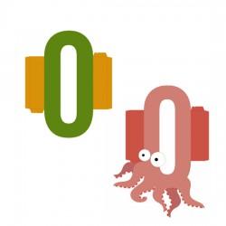 Animal Alphabet O - CP