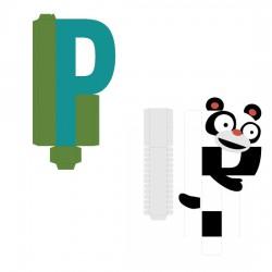 Animal Alphabet P - CP