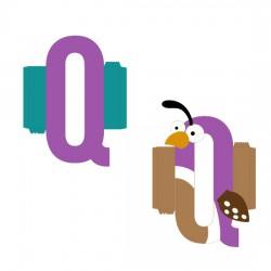 Animal Alphabet Q - CP
