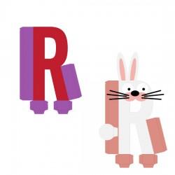 Animal Alphabet R - CP