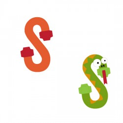 Animal Alphabet S - CP