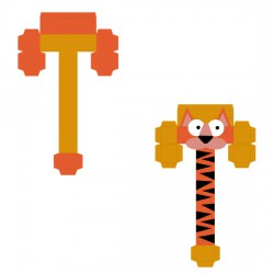 Animal Alphabet T - CP
