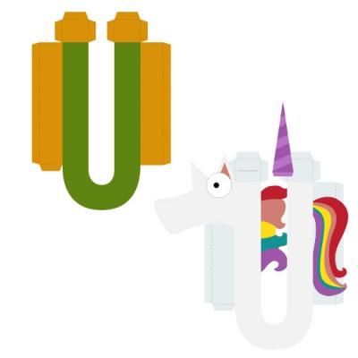 Animal Alphabet U - CP