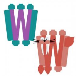 Animal Alphabet W - CP