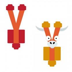 Animal Alphabet Y - CP
