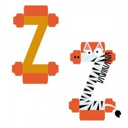 Animal Alphabet Z - CP