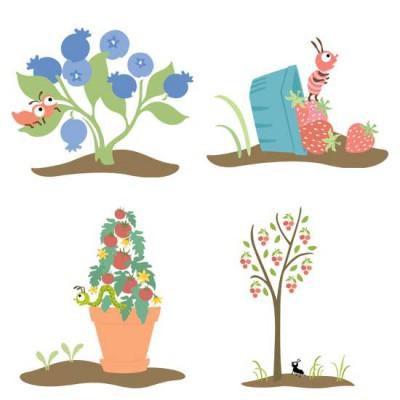 Little Cuties Garden - Scenes - GS