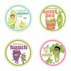 Little Cuties Garden -Tags - GS