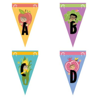 Little Cuties Garden - Banners - GS