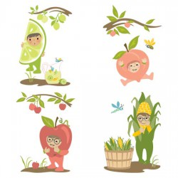 Little Cuties Garden - Characters - GS