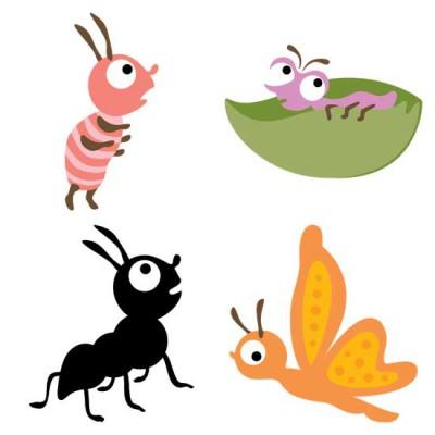 Little Cuties Garden - Bugs - GS