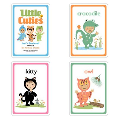 Little Cuties Animal - Cards - GS