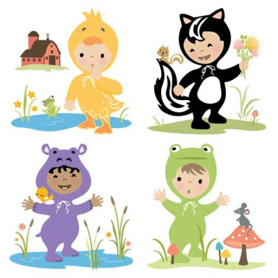 Little Cuties Animal - Characters - GS