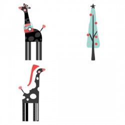 Giraffing Out Loud - Christmas - GS