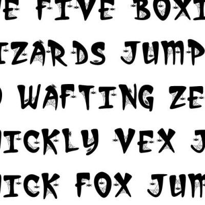 LD Spider - Font
