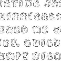 LD Pumpkin - Font