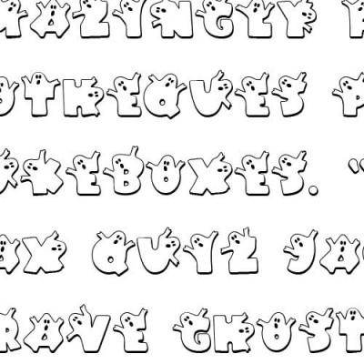 LD Ghouls - Font
