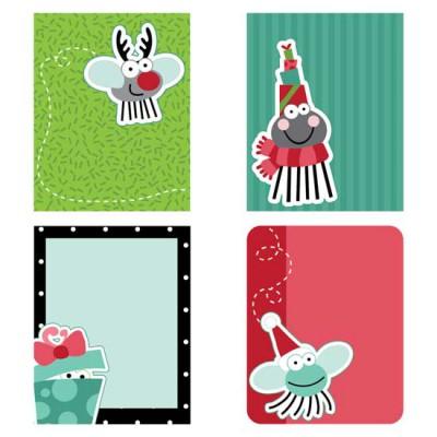 Bah Humbug Planner Stickers - PR