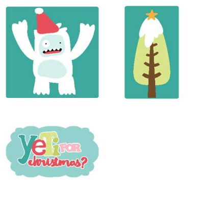 Yeti For Christmas - CS