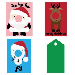 Red - Nosed Lip Balm Cards - CP