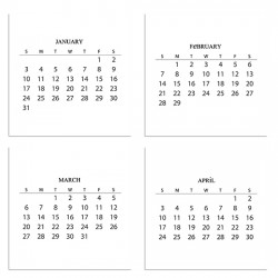 2016 Calendar - PR